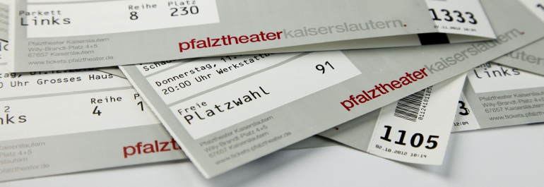 Theater Kasse Header