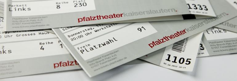 Theater Kasse Header